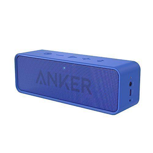 photo Wallpaper of Anker-Anker SoundCore   Mobiler Bluetooth 4.0 Lautsprecher Mit Unglaublicher 24-Blau
