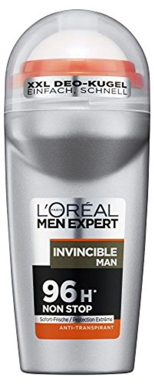 photo Wallpaper of L'Oreal Paris-L'Oréal Paris Men Expert Invencible Hombres Desodorante Roll On De 96-