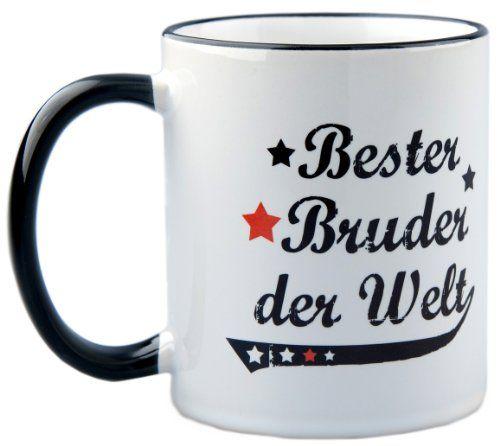 photo Wallpaper of geschenke-fabrik-Tasse Bester Bruder Der Welt Vintage Style   Geschenk-