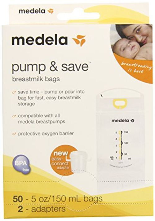 photo Wallpaper of Medela-Medela Pump And Save Breast Milk Bags, 50 Count By-