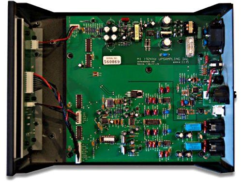 photo Wallpaper of Musical Fidelity-Musical Fidelity M1 DAC DA Wandler   Schwarz-grün