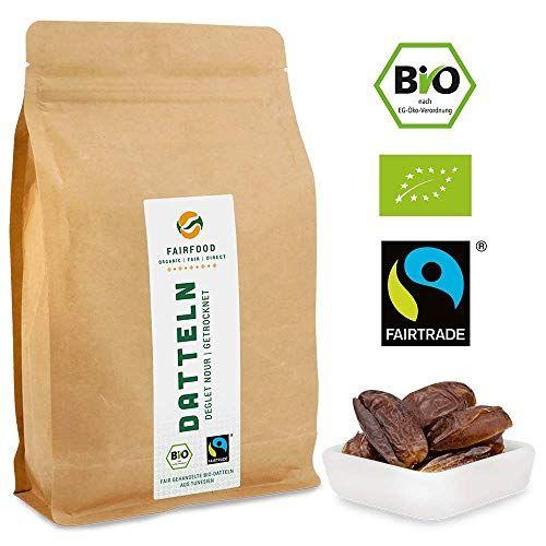 photo Wallpaper of Cashew for You-Bio Fairtrade Datteln: Deglet Nour | Getrocknet & Entsteint (1000g)-