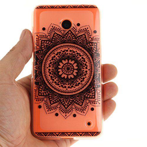photo Wallpaper of Cozy Hut-Nokia Lumia 630 635 Hülle,Nokia Lumia 630 635 Case,Nokia Lumia-Schwarz Mandala