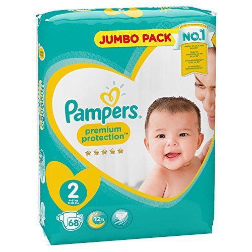 photo Wallpaper of Pampers-Pampers New Baby   Pañales, Talla 2 (3 6-