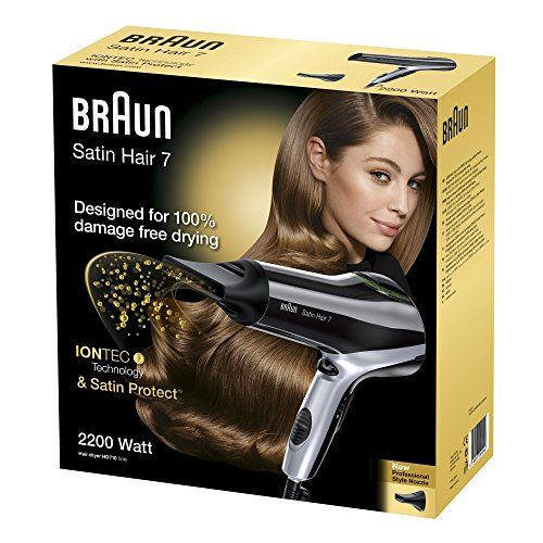 photo Wallpaper of Braun-Braun Satin Hair 7 Haartrockner HD 710, Mit IonTec Und Satin Protect Technologie, 2200-