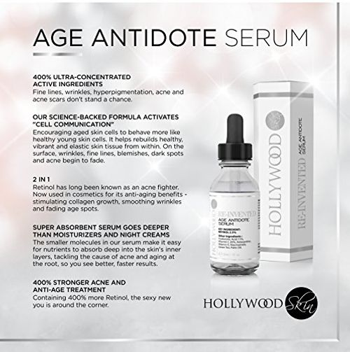 photo Wallpaper of hollywoodskin-Age Antidote Serum   Neu Erfundene Anti Falten Pflege -