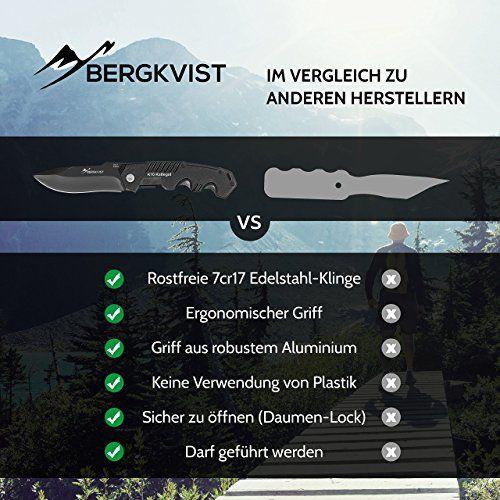 photo Wallpaper of BERGKVIST-BERGKVIST® Klappmesser K10 [2018] Taschenmesser | Zweihandmesser Extra Scharf Und Darf Geführt Werden |-