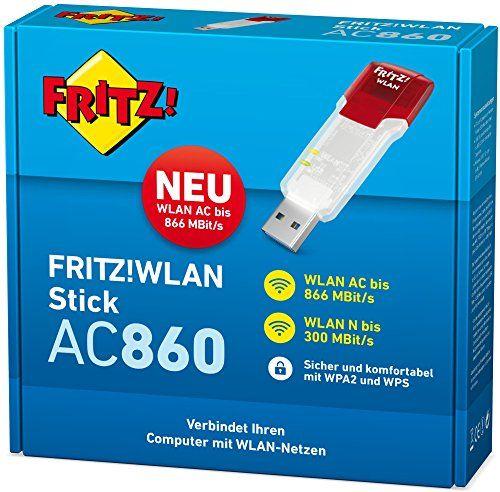 photo Wallpaper of AVM-AVM FRITZ!WLAN Stick AC 860 (866 MBit/s (5 GHz), 300-Rot, Durchscheinend