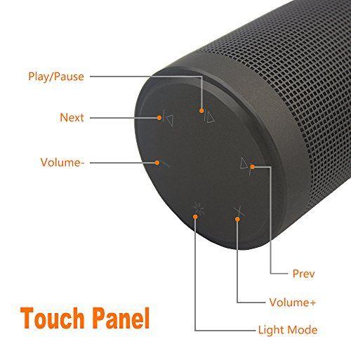 photo Wallpaper of Rabbitstorm-Rabbitstorm® Tragbarer Bluetooth Lautsprecher, Bluetooth 4.0, Kabellos, Mit Lautsprecher, Mehrfarbig, Mit-