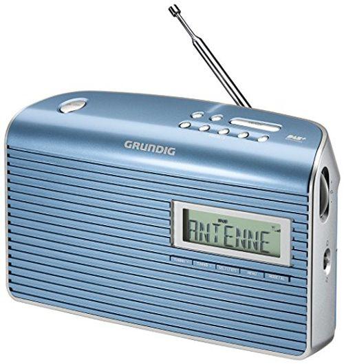 photo Wallpaper of Grundig-Grundig Music 7000 DAB+ Radio, Blau/silber-Blau/Silber