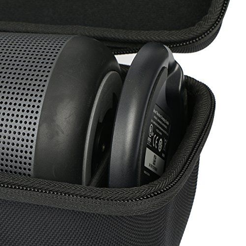 photo Wallpaper of Khanka-Für BOSE SoundLink Revolve+ Bluetooth Lautsprecher Passt Ladeschale Hart Reise Tragetasche Tasche-Platz