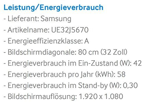 photo Wallpaper of Samsung-Samsung J5670 80 Cm (32 Zoll) Fernseher (Full HD, Triple Tuner, Smart TV)-Schwarz