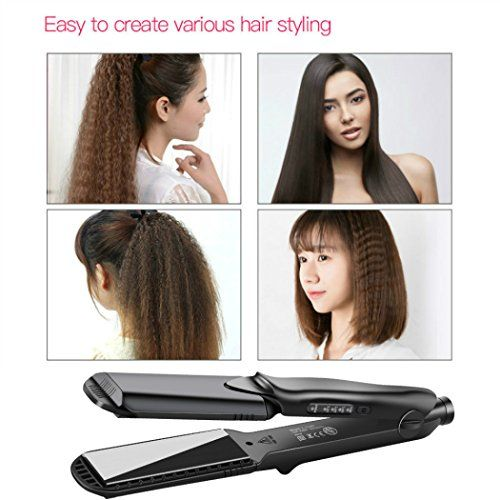 photo Wallpaper of inkint-4 En 1 Plancha De Pelo,Plancha Pelo Ondas, Crimping Iron Temperatura De-A