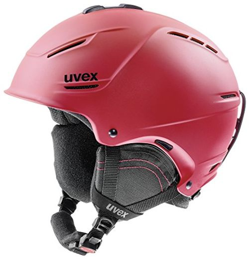 photo Wallpaper of Uvex-Uvex Erwachsene P1us 2.0 Skihelm, Red Mat, 59 62 Cm-red mat