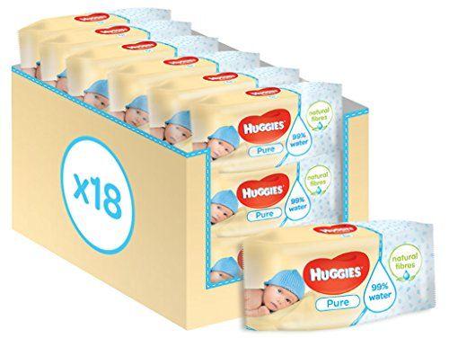 photo Wallpaper of Huggies-Huggies Pure Toallitas Para Bebé   Toallitas, 18 Paquetes De 56 Unidades-