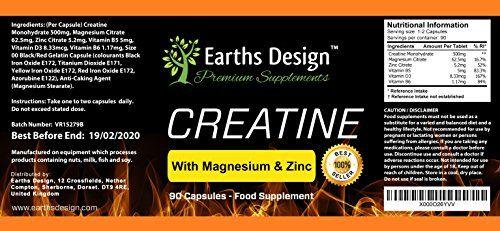 photo Wallpaper of Earths Design-Creatina   Monohidrato De Creatina Con Magnesio, Zinc, Vitamina B6-