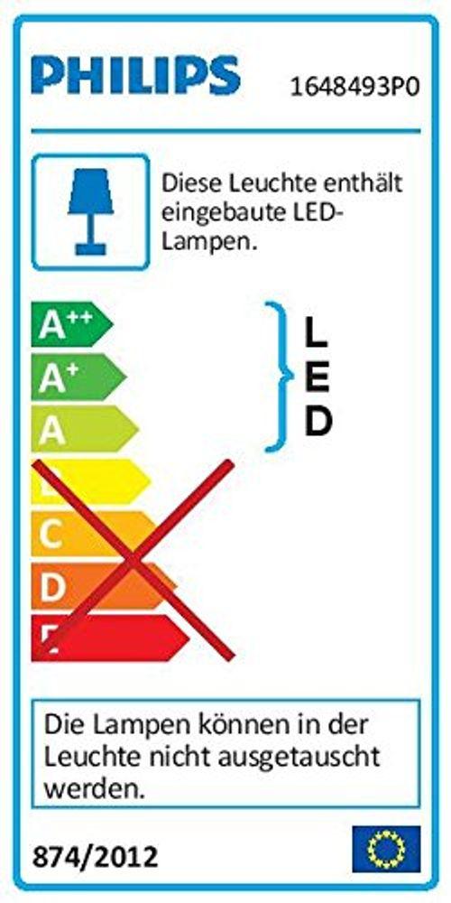 photo Wallpaper of Philips-Philips MyGarden LED Wandaussenleuchte Bustan, Anthrazit, Bewegungsmelder, Gartenleuchte-Warmweiß
