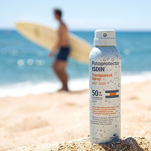 photo Wallpaper of Isdin-Fotoprotector ISDIN Transparent Spray WET SKIN SPF 50 250 Ml-