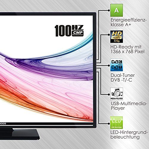 photo Wallpaper of Techwood-Techwood H32T11A 81 Cm (32 Zoll) Fernseher (HD Ready, Triple-schwarz