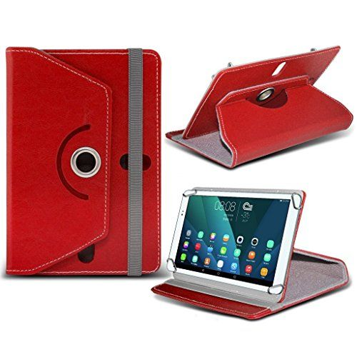 photo Wallpaper of i-Tronixs-(Red) TONBUX 10.1 [10.1 Inch ] Hülle, Tasche [Stand Cover] For TONBUX 10.1-360 case (Red)