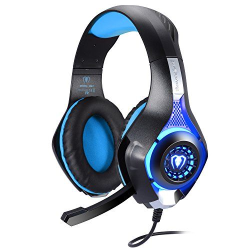 photo Wallpaper of BlueFire-BlueFire 3.5mm Gaming Headset Komfortable Over Ear Wired Kopfhörer Mit Mikrofon Für PS4-Blau