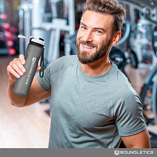 photo Wallpaper of Boundletics-Trinkflasche   Wasserflasche   Sportflasche Aus Tritan   BPA Frei 1l-Pink | 1.000ml
