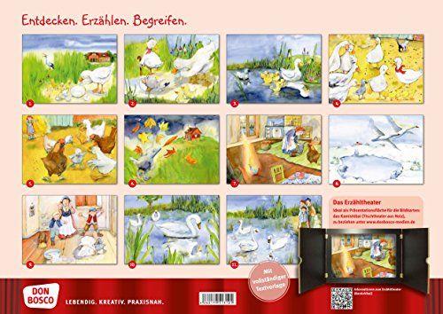 photo Wallpaper of Don Bosco Verlag-Das Hässliche Entlein: Bildkarten Für Unser Erzähltheater. Entdecken. Erzählen. Begreifen.-