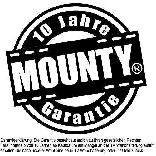 photo Wallpaper of MOUNTY-MOUNTY TV Wandhalterung MY231, TÜV SÜD GS Zertifiziert, Neigbar, Max VESA-bis VESA 200x200