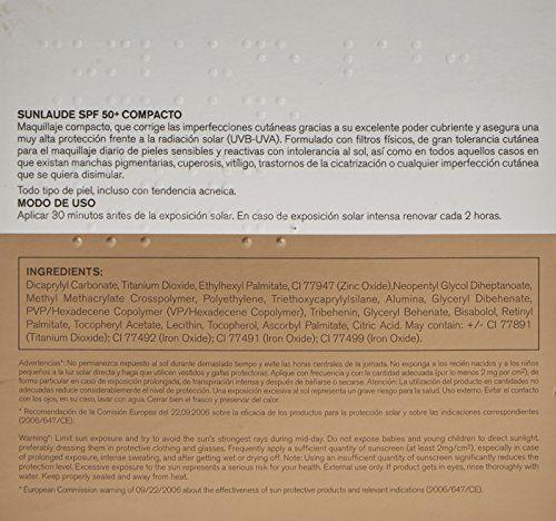 photo Wallpaper of DERMOFARM-SUNLAUDE SPF50+ Maquillaje Compacto Light 10G Cumlaude Lab-