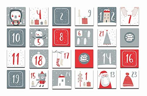 photo Wallpaper of Nastami-Adventskalender Zum Rubbeln