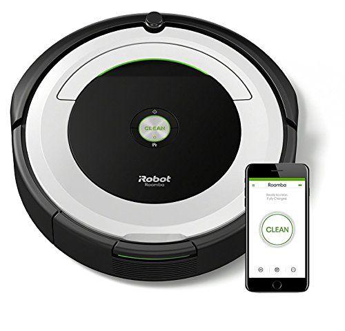 photo Wallpaper of iRobot-IRobot Roomba 691 Saugroboter (hohe Reinigungsleistung Mit Dirt Detect, Geeignet Bei-Silber