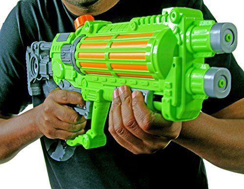 photo Wallpaper of Nick and Ben-Wasser Pistole Kinder Spielzeug 57 Cm Wasser Spritze Poolkanone Sommer Strand Beach-Mehrfarbig