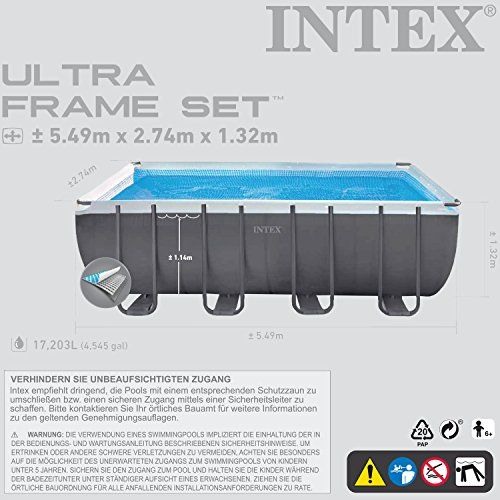photo Wallpaper of Intex-Intex 28911. GH Above Ground Pool – Above Ground Pools-Grau
