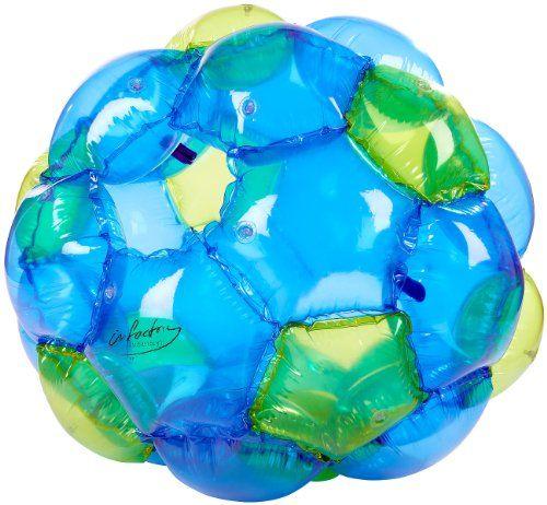 photo Wallpaper of infactory-Infactory Zorb Ball: Aufblasbarer Roll Ball Für Kinder, 125 Cm-Blau