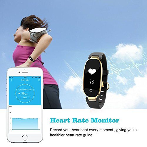 photo Wallpaper of ZKCREATION-Reloj Inteligente Mujer ZKCREATION Fitness Tracker K3 Bluetooth Smartwatch Pulsera Inteligentes Actividad-Negro