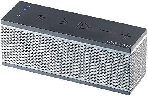 photo Wallpaper of auvisio-Auvisio WiFi Lautsprecher: WLAN Multiroom Lautsprecher Mit Bluetooth & Mikrofon, 10-