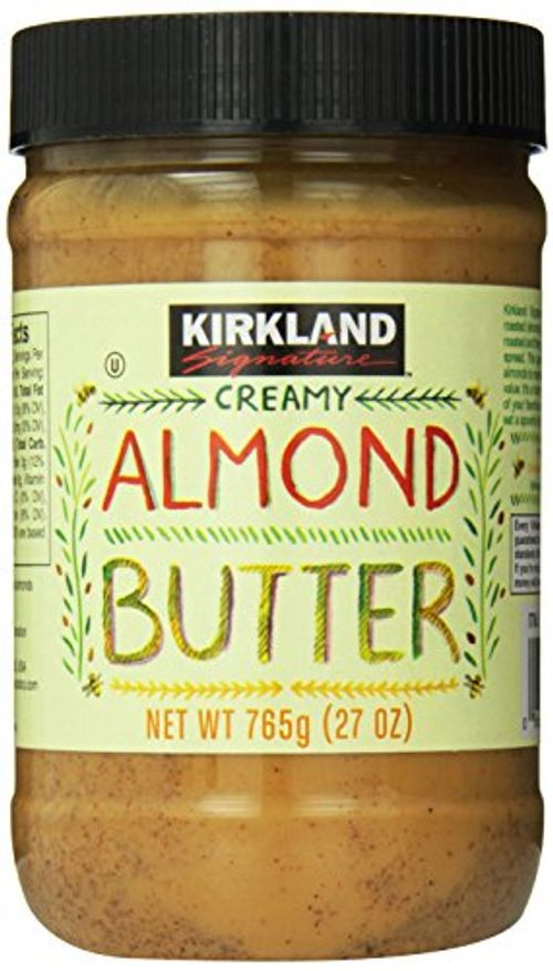photo Wallpaper of Kirkland Signature-Kirkland Signature Creamy Almond Butter, 27 Ounce-