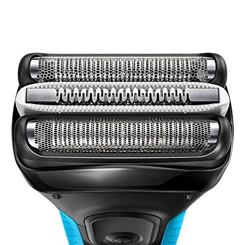 photo Wallpaper of Braun-Braun Series 3 3040   Afeitadora Eléctrica Con Tecnología-Azul Y Negro