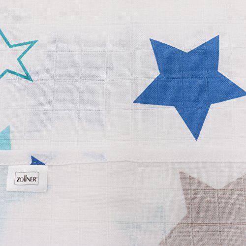 photo Wallpaper of ZOLLNER-Zollner 5 Muselinas Para Bebé, Algodón, 70x70 Cm, Con Estampado De Estrellas-750-variado