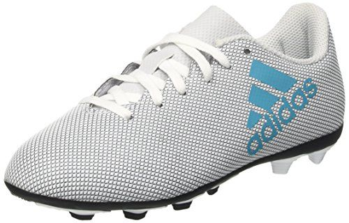 photo Wallpaper of adidas-Adidas Unisex Kinder X 17.4 Fxg Fußballschuhe, Weiß (Footwear White/Energy Blue/Clear-Weiß (Footwear White/Energy Blue/Clear Grey)