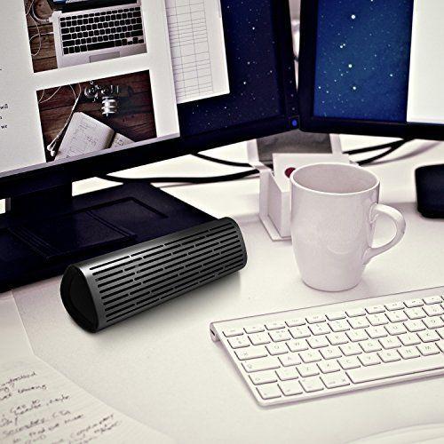 photo Wallpaper of meidong-Bluetooth Lautsprecher, [12W Metall Shell] Meidong 2110Wireless Lautsprecher, Tragbare Lautsprecher Mit Satten Bass Und-grau