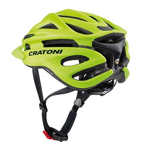 photo Wallpaper of Cratoni-Cratoni Pacer+ Fahrradhelm, Lime Matt, L XL-Lime Matt