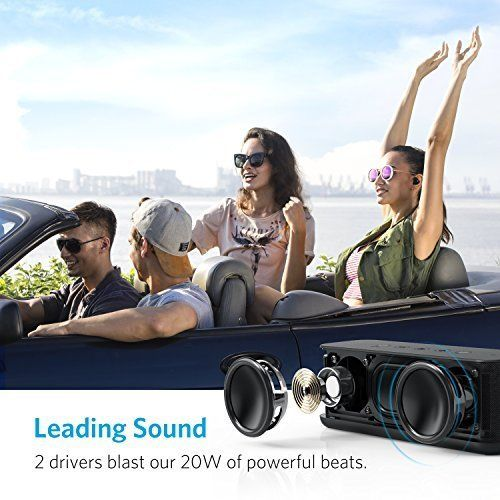 photo Wallpaper of ANKER-Anker SoundCore Boost 20W Bluetooth Lautsprecher Mit BassUp Technologie. IPX5 Wasserfest,-Bluetooth Lautsprecher