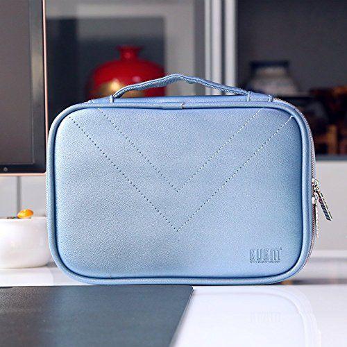 photo Wallpaper of BUBM-Elektronische Tasche, 3PCS Universaltasche Doppelt Elektronische Tasche Für Elektronische Zubehörtasche-Blau