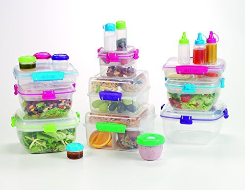 photo Wallpaper of Sistema-Sistema Lunchbox / Butterbrotdose, In 2 Sektionen Unterteilt, 350 Ml-Sortiert