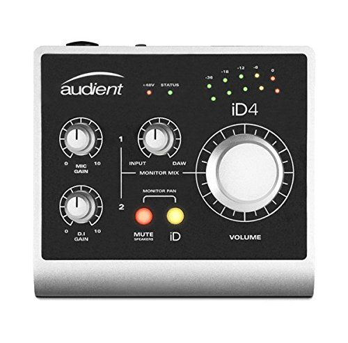 photo Wallpaper of Audient-Audient ID4 Audio USB Interface-Silber
