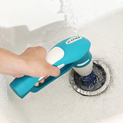 photo Wallpaper of ICOCO-ICOCO Scrubber Cepillo Para Cocina & Baño Eléctrica De Mano Cepillo De Limpieza-Azul