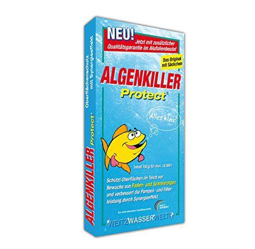 photo Wallpaper of Algenkiller Protect-ALGENKILLER Protect 150 G Für Bis Zu 10,000 Liter,  Wasserpflege Für Garten -