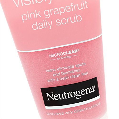 photo Wallpaper of Neutrogena-Neutrogena Visibly Clear Pink Grapefruit Daily Scrub 150ml-