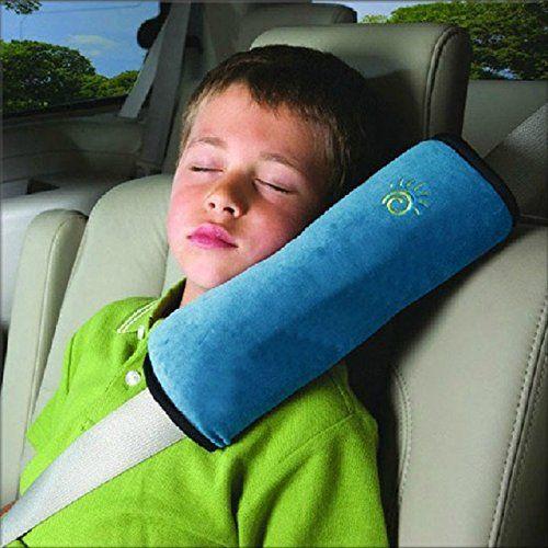 photo Wallpaper of Ukamshop-Amcool Weich Baby Kinder Sicherheitsriemen Gurtpolster Autogurten Autokissen (blau)-blau